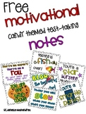 Motivational Test Taking Candy Notes