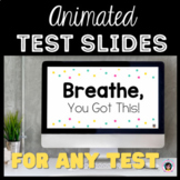 Motivational Test and Reward Slides (ANIMATED) perfect for
