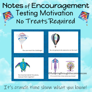 Testing Note Cards  Motivational and Editable
