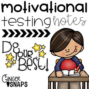 Motivational Testing Notes