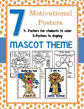 Motivational Testing Posters: Mascot Theme for FSA