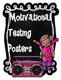 Motivational Testing Posters- Rockstar Themed