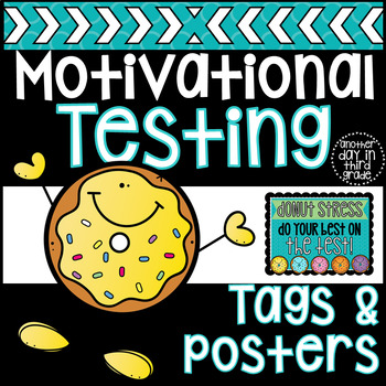 Motivational Testing Posters & Tags