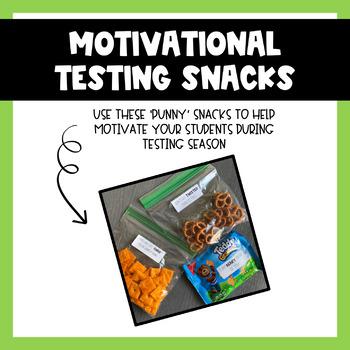 Motivational Testing Snack Labels