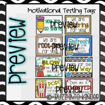 Motivational Testing Tags: Standardized Test Prep