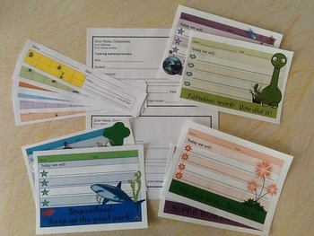 Motivational Tutoring or Small Group Kit with Behavior Cha