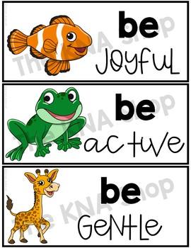 Motivational Word Wall
