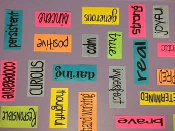 Motivational Word Wall - Great for Offices, Classrooms