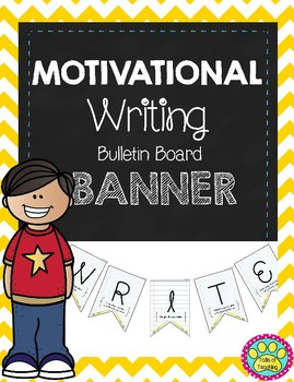 Motivational Writing Banner/ Decor