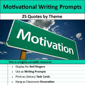 Motivational Writing Prompts