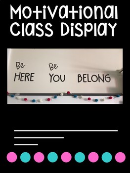 Motivational class display