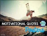 Motivational quotes and phrases posters for the classroom