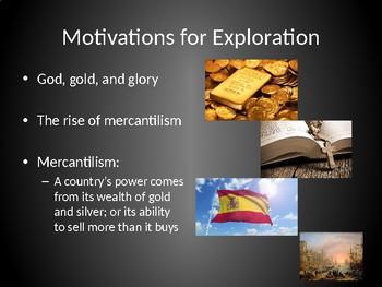 Motivations for Colonization