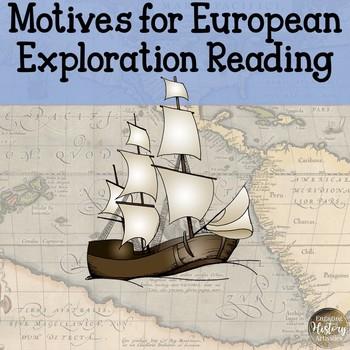 Motives for European Exploration