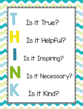 "Motiviational ""Think"" Posters"
