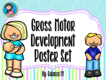 Motor Gross Development Poster Set