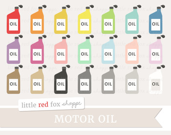 Motor Oil Clipart; Car, Auto, Mechanic