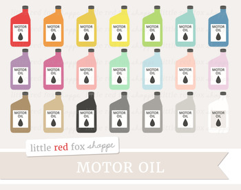 Motor Oil Clipart; Car, Auto, Mechanic