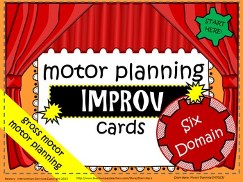 "Motor Planning Center - ""IMPROV"" over 1000 combinations!"