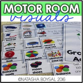 Motor Room Visuals