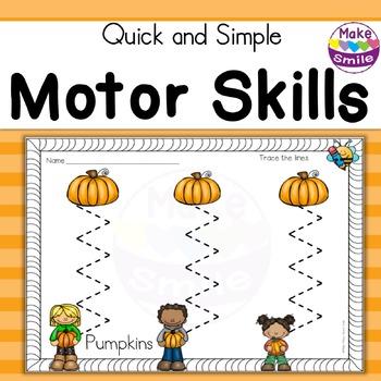 Motor Skills: Pumpkins