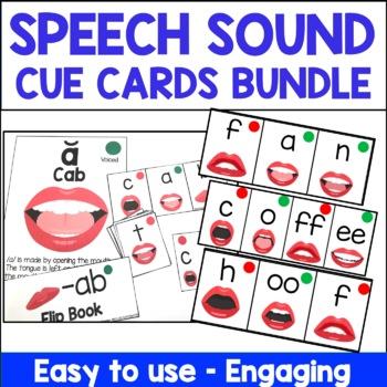 Motor Speech Apraxia and Articulation Flip Books Bundle