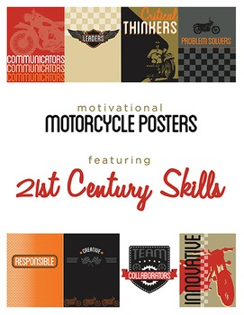Motorcycle Classroom Theme Pack