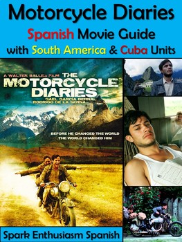 Motorcycle Diaries Complete Movie Packet in Spanish / Diarios de Motocicleta