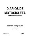Motorcycle Diaries-Spanish Study Guide