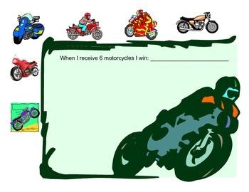 Motorcycle token board