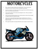 Motorcycles Anchoring Activivities