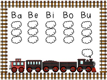 Motoring Planning Speech:  Train Apraxia Packet!