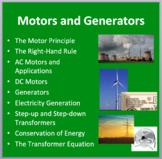 Motors and Generators - Lesson