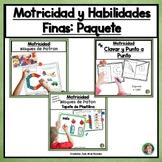 Motricidad y Habilidades Finas: Paquete en Español