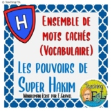 Mots Cachés | Pouvoirs de Super Hakim | French Vocabulary