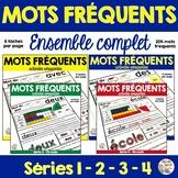 Mots Fréquents - Ensemble complet - French Sight Words Bundle