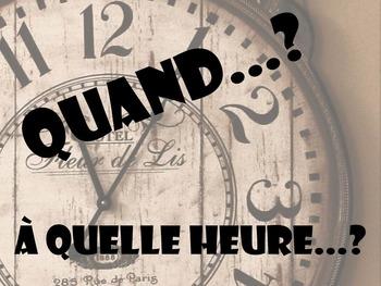 Mots Interrogatifs / Question Words Poster Set - French