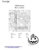 Mots cachés - Halloween