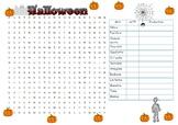 Mots cachés: Halloween