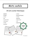 Mots cachés (15 thèmes)
