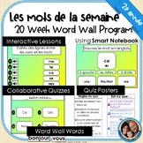 Mots de la semaine: 2e année –Gr 2 Words of the Week Program