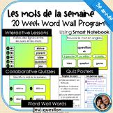 Mots de la semaine: 3e année –Gr 3 Words of the Week Program