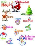 Mots de noël - French Christmas words