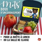 Mots d'encouragements pour la classe / Activités en français gratuit