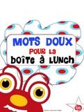 Mots doux: boîte à lunch