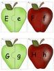 Alphabet et mots pommes (Letter Correspondence activities)