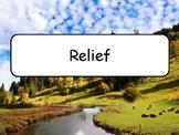 Mots étiquettes - Relief et nature