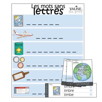 Mots-étiquettes - Voyage
