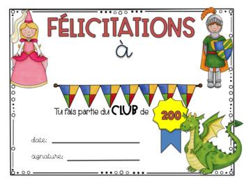 Mots fréquents: Série 4 - 200 mots French sight words