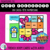 Mots fréquents: French Sight Word Puzzle Digital Games  BOOM Cards